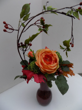 Shades of Autumn Silk Arrangement