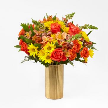 Shades of Autumn Vase