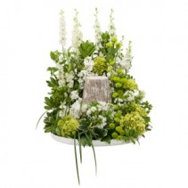 Shades of Green Urn Design