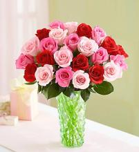 Shades of Her Love Roses Arrangement