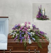 Shades of Lavender      Funeral flowers