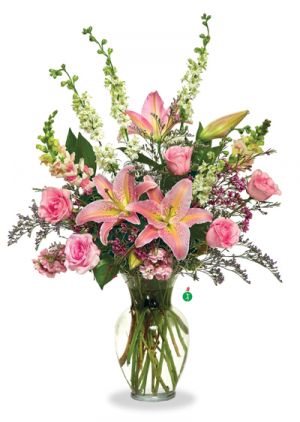 Shades of Pink  in Liberty, NC   GARRETT'S FLOWER SHOP