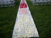 SHADES OF PINK AISLE RUNNER