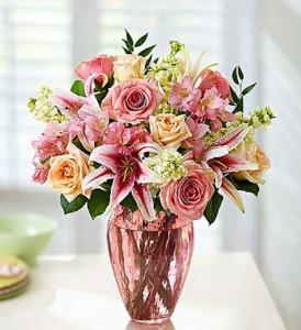 Shades of Pink  Fresh Arrangement