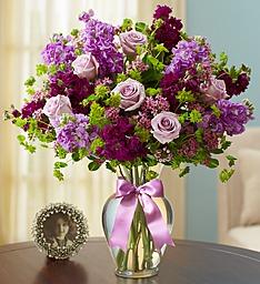 Lavender Luxury Lavender Roses & Fragrant Matthiola
