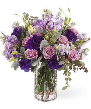 Shades of Purple  in Snellville, GA | SNELLVILLE FLORIST