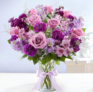 Shades of Purple™ Arrangement in Croton On Hudson, NY | Cooke's Little Shoppe Of Flowers