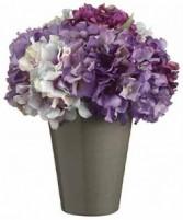 Shades of Purple Arrangement-SILK BOTANICAL