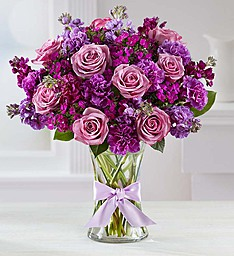 Shades of Purple  Purple Mixed Flowers