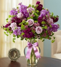 Shades of Purple Valentine's Day