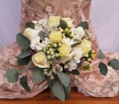 Shades of white Wedding Bouquet