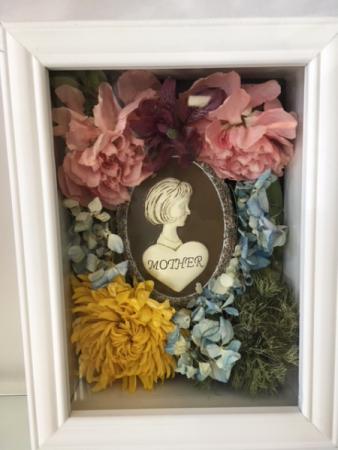 Shadow box dried flowers Gift shadow box