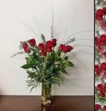 Shannon's Dozen Rose Bouquet Rose