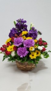 sharing smiles Floral Basket