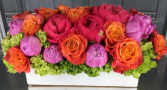 Summer colors rectangular flowers