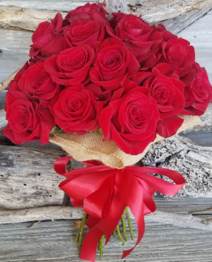 She Said YES Bouquet Hand tied bouquet  in Key West, FL | Petals & Vines