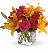 Sherbert  Vase Arrangement