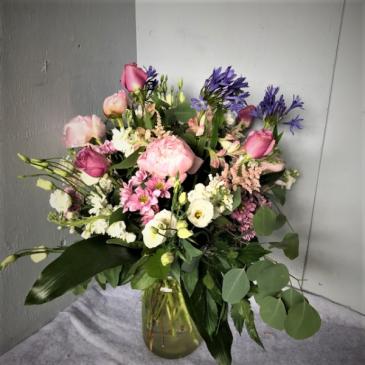 Sherbet Delight Vase