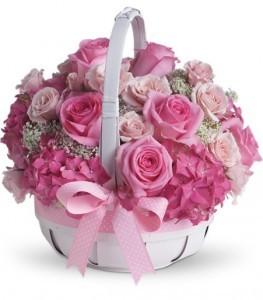 Shes Lovely Basket Arrangement