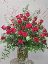 Whole Lotta Lovin 50 red roses