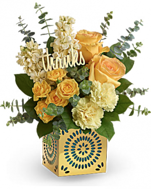 Shimmer of Thanks  in Saint Paul, MN | CENTURY FLORAL & GIFTS
