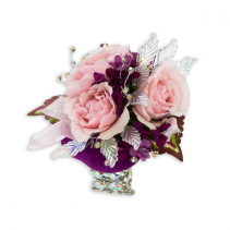 Shimmer Wrist Corsage
