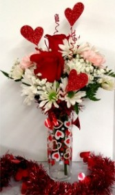 Shimmering Hearts Arrangement