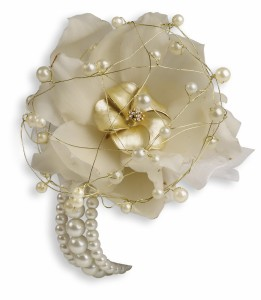 Shimmering Pearls Corsage HPR152A