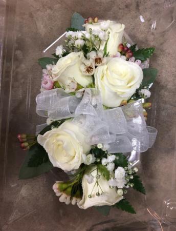 Shimmering Rose  Prom Corsage