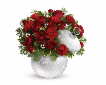 Shimmering Snow Bouquet