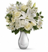 Shimmering White Light - 407 Vase Arrangement