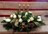 Shimmery Candlelight Centerpiece  Centerpiece