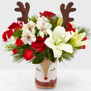 Shine Bright Bouquet Christmas Arrangement