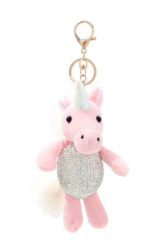 Shine Bright Unicorn Keychain Miss Mississippi Pageant