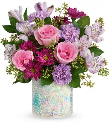 Shine In Style Bouquet All-Around Floral Arrangement
