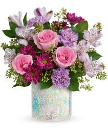 Shine In Style Flower Arrangement