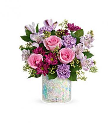Shine on bouquet  Vase