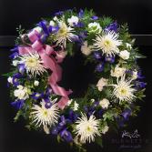 Shine on Wreath Sympathy