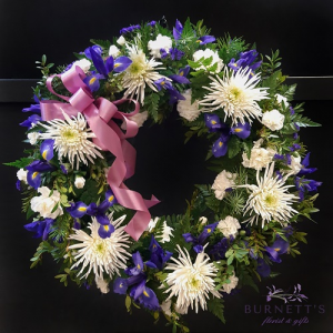Shine on Wreath Sympathy in Kelowna, BC | Burnett's Florist