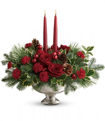 Shining Bright Centerpiece All-Around Floral Arrangement
