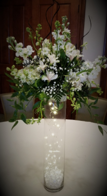 Shining bright Centerpiece Bridal Arrangements