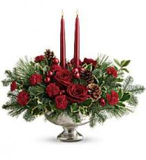 Shining Bright Centerpiece Christmas Arrangement