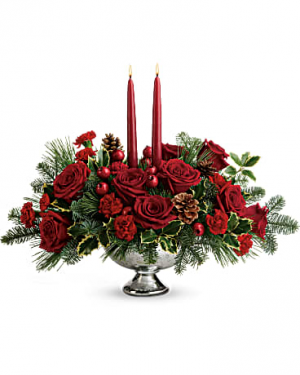 Shining Bright Centerpiece Premium  in Sunrise, FL | FLORIST24HRS.COM