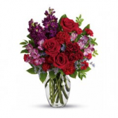 Shining Heart Floral Arrangement