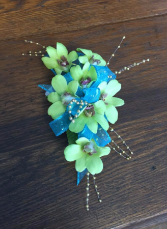 Shockingly Perfect Fun Corsage Wrist Corsage