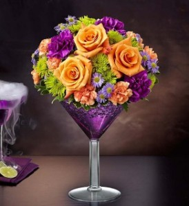 SHOCKTAIL MARTINI GFFG Arrangement in Greers Ferry, AR | GREERS FERRY FLORIST & GIFTS