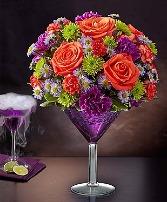 145627L  Shocktail Martini Bouquet