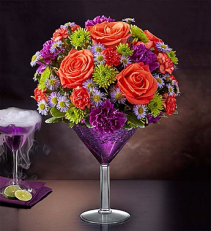 Shocktail Martini Bouquet Martini