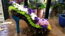 Custom Shoe Memorial  Custom