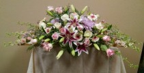 Show of Blooms Casket Spray - AWF1004
